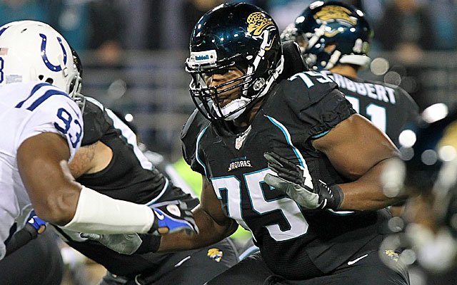 After trading for Eugene Monroe last season, the Ravens have signed the OL to a five-year deal. (USATSI)