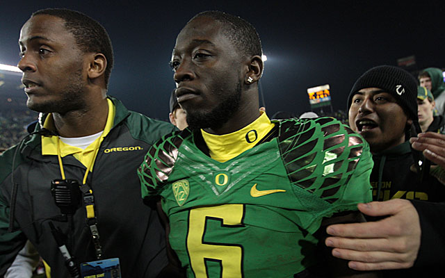 De'Anthony Thomas made up for a disappointing performance at the NFL combine. (USATSI)