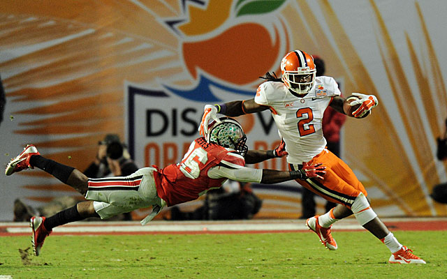 Clemson's Sammy Watkins could be a dangerous weapon for the Buccaneers. (USATSI)