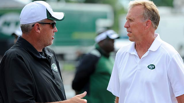 NY media reported a rift between Rex Ryan and Idzik after DRC got away. (USATSI)