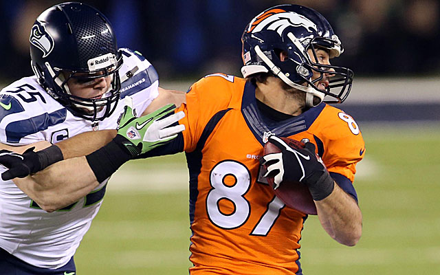 Receiver Eric Decker left the Broncos during free agency. (USATSI)
