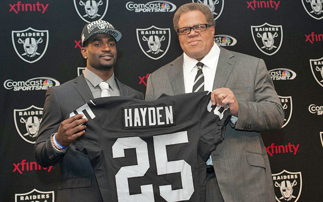 The jury is still out on Reggie McKenzie's 2013 draft, including first-round pick D.J. Hayden. (USATSI)