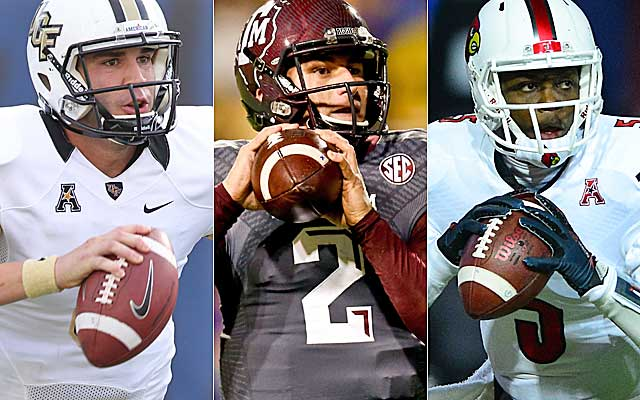 Blake Bortles, Johnny Manziel and Teddy Bridgewater each have a unique skill set.   (USATSI)