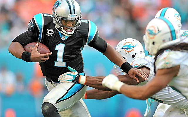 Unless the Panthers land some impact receivers, Cam Newton could be in trouble.   (USATSI)