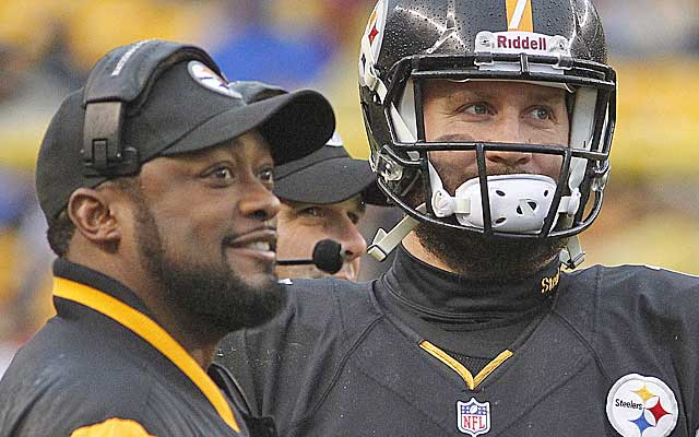 Can Mike Tomlin and Big Ben get the Steelers back to the playoffs?  (USATSI)