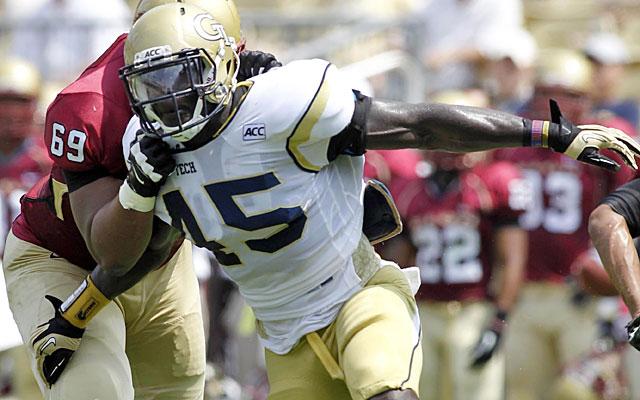 Jeremiah Attaochu -- with more sacks than Khalil Mack, Anthony Barr -- has pass-rush skills. (USATSI)