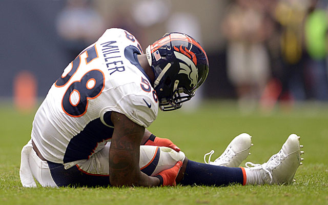 The Broncos should be improved just by getting Von Miller back on the field. (USATSI)