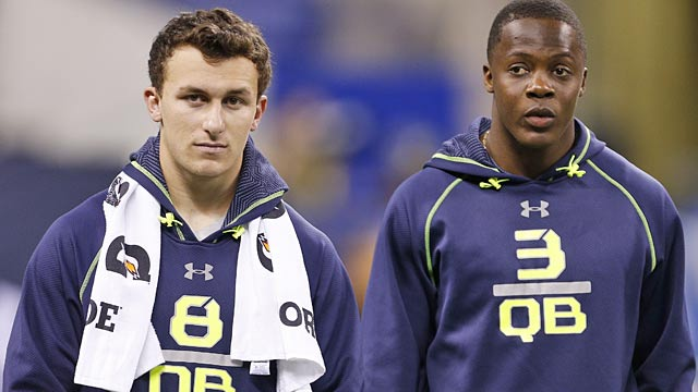 What do Johnny Manziel and Teddy Bridgewater's Wonderlic results mean? Not much.  (USATSI)