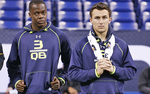 Teddy Bridgewater looks like a Browns fit late in Round 1, after the Jaguars land Johnny Manziel. (USATSI)
