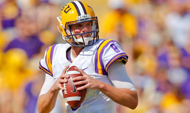 There's no way to predict which teams fall for projected Day 2 QBs like Zach Mettenberger.  (USATSI)