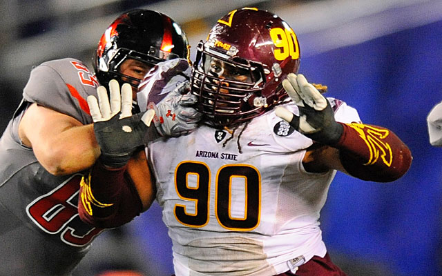 Will Sutton could be a secondary option at DT and turn into a steal in the third round. (USATSI)