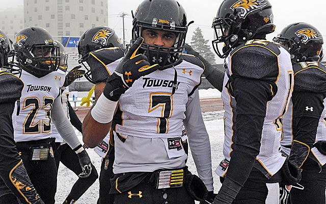 Towson DB Jordan Love's father played in the NFL.    (USATSI)