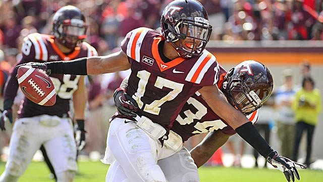 Rising Hokie Kyle Fuller now is the first cornerback off the board.  (USATSI)