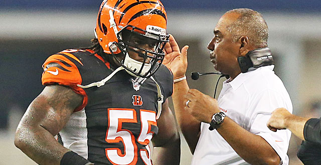 Vontaze Burfict continues to reward Marvin Lewis for believing in him when most did not. (USATSI)