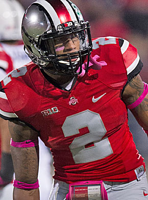 Ryan Shazier made a consistent impact with big plays and big hits at Ohio State. (USATSI)
