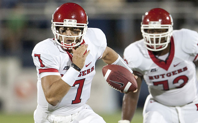 Tom Savage started strong at Rutgers before things soured and he moved on to Arizona and Pitt. (USATSI)