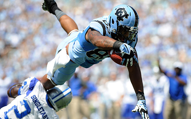 Eric Ebron will be a great fit for a passing team that doesn't need him to block. (USATSI)