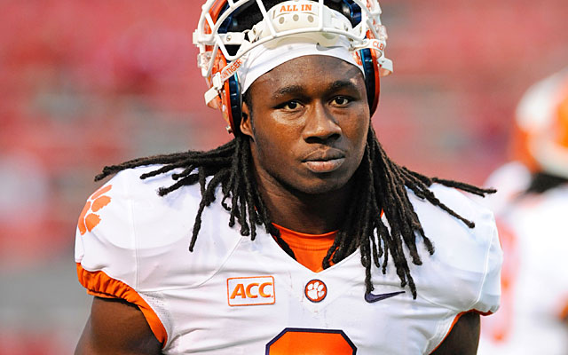 Short on offensive weapons, the Raiders might try to nab Sammy Watkins at No. 5 overall. (USATSI)