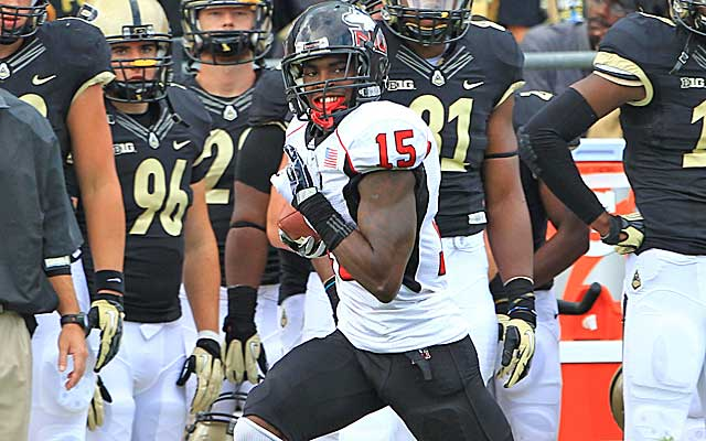 Northern Illinois safety Jimmie Ward plays much bigger than he's listed.    (USATSI)