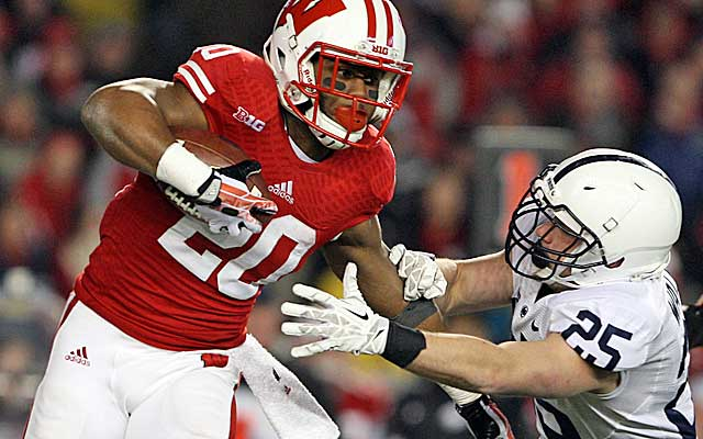 Wisconsin's James White could be a valuable steal for the team that drafts him.   (USATSI)