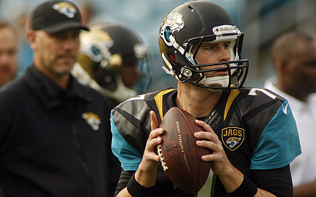 It looks like the Jaguars will give Chad Henne a shot at retaining his quarterback job.  (USATSI)