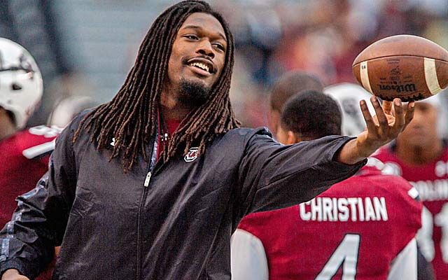 Jadeveon Clowney still rates as No. 1 but also comes with questions attached. (USATSI)