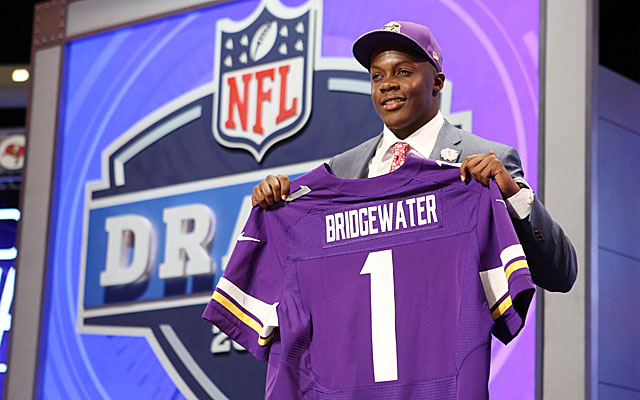 Trading up to get Teddy Bridgewater in the first round was a shrewed move by the Vikings.  (USATSI)