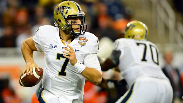 The Texans hope they can build around Pitt quarterback Tom Savage. (USATSI)