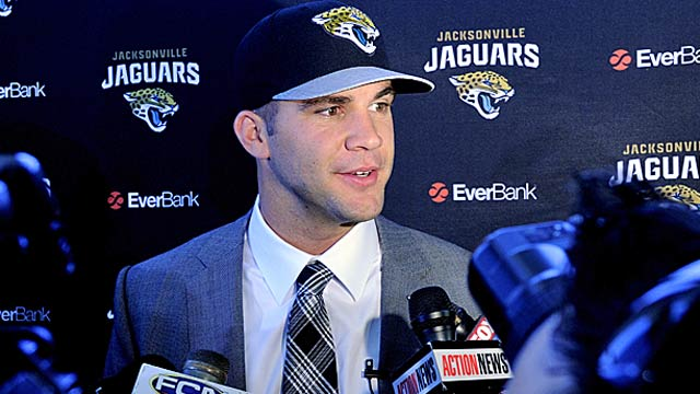 Blake Bortles instantly becomes the face of the franchise in Jacksonville. (USATSI)