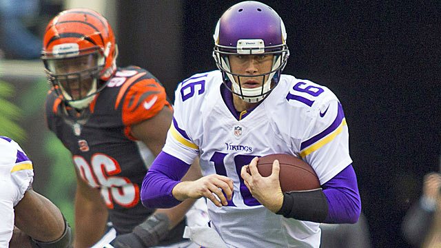 Matt Cassel has a backer in Norv Turner, but Teddy Bridgewater will get his shot in 2014. (USATSI)