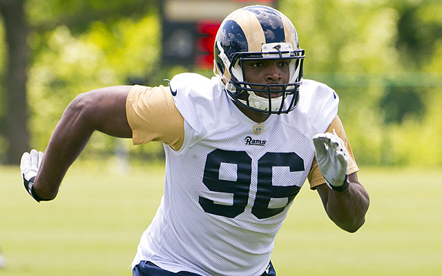 As a seventh-round pick, Michael Sam should be worried about simply making the Rams roster. (USATSI)