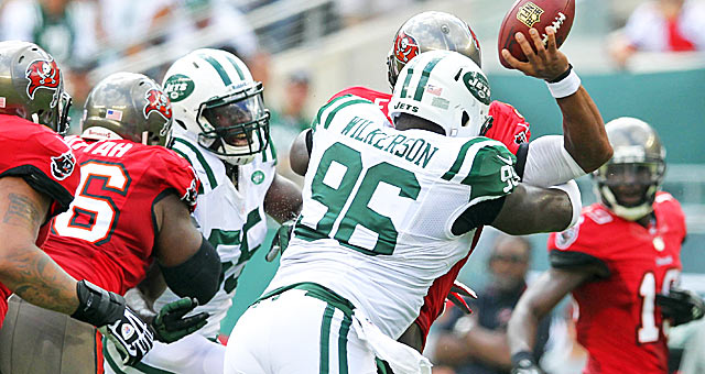 Muhammad Wilkerson has helped bring dominance back to the Jets D-line.(USATSI)