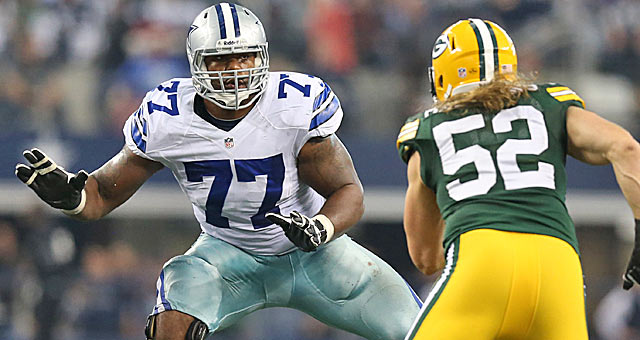 The Cowboys struck gold with their pick of left tackle Tyron Smith.(USATSI)