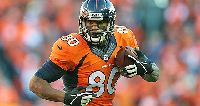 Tight end weapon Julius Thomas was a serious bargain in Round 4.(USATSI)