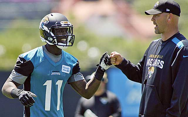 Gus Bradley is banking on Marqise Lee to make an immediate impact in Jacksonville.    (USATSI)