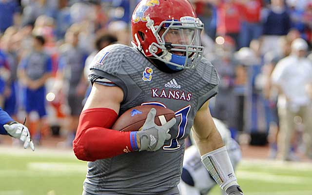 Linebacker Ben Heeney could be the first Jayhawk drafted since 2010.    (USATSI)