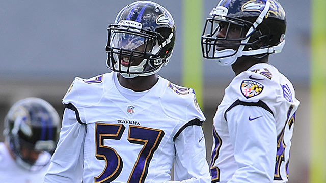 C.J. Mosley (57) was the Ravens No. 1 pick, but safety Terrence Brooks  might be a quicker fit. (USATSI)