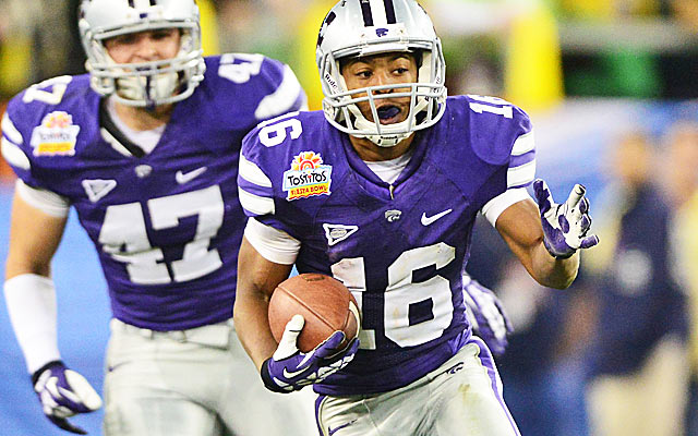 Tyler Lockett has big-play skills that usually attract heavy NFL attention. (USATSI)
