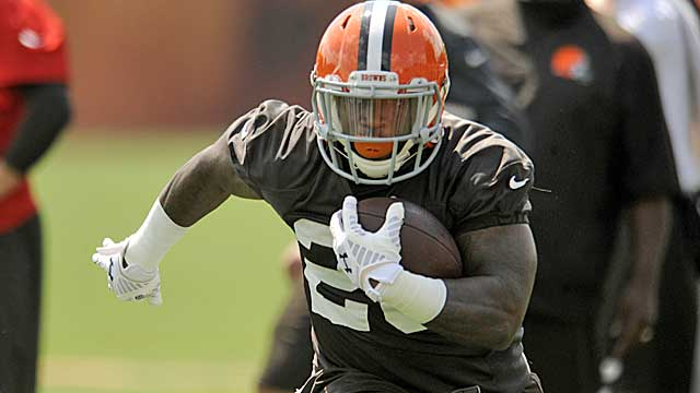 Terrance West should challenge Ben Tate to be Cleveland's primary RB.   (USATSI)