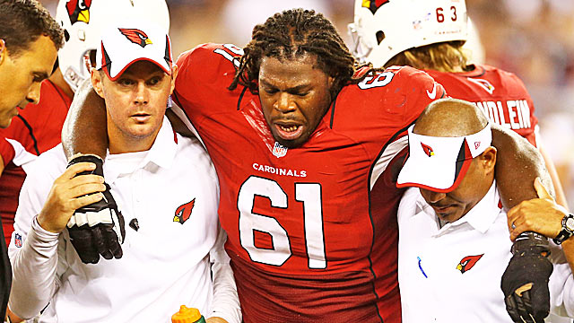 Former No. 1 pick Jonathan Cooper returns from an early injury in 2013 to boost the Cardinals. (USATSI)