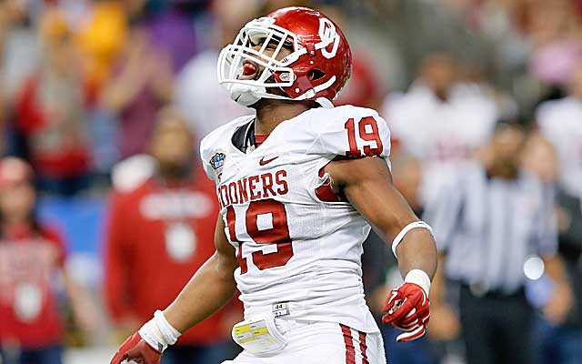 Eric Striker draws comparisons to Ryan Shazier.   (Getty Images)