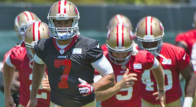 Colin Kaepernick's pact sharpens focus on the rest of the club's cap dealings. (USATSI)