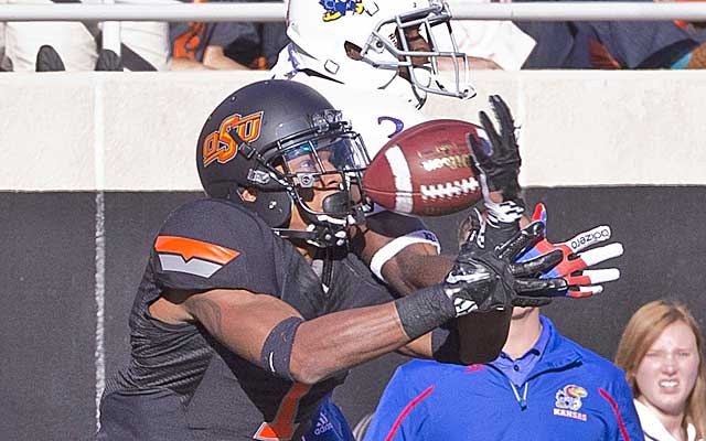 Kevin Peterson has the skill set to develop into one of the top corners in the Big 12.    (USATSI)