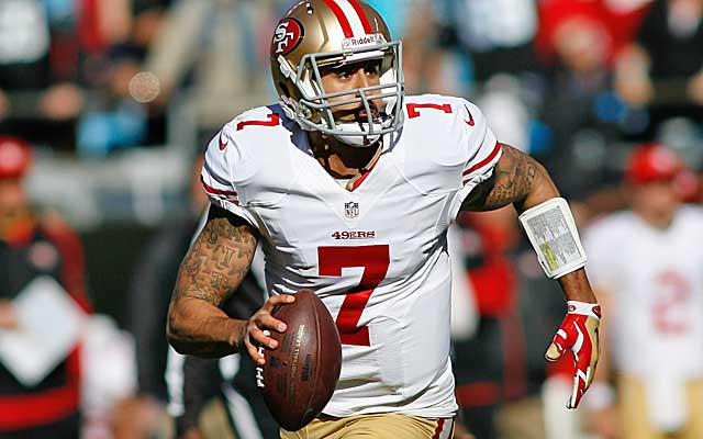 Colin Kaepernick's new deal has plenty of safeguards for the 49ers. (USATSI)