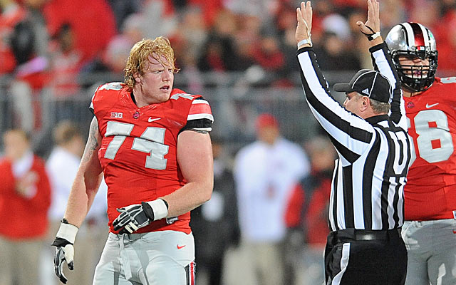Jack Mewhort brings some toughness to an offensive line that needed some. (USATSI)