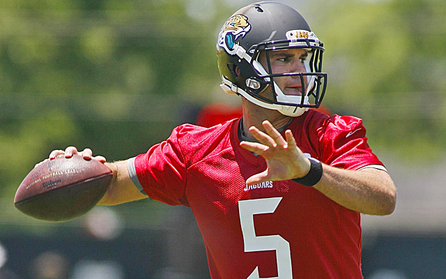 Should the Jags cut to the chase and start rookie Blake Bortles out of the gate? (USATSI)