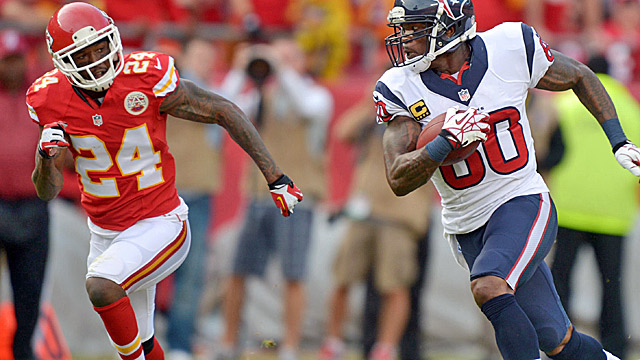 Brandon Flowers wasn't great last season, but the Chiefs look thin at corner after cutting him. (USATSI)
