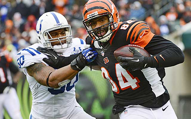Jermaine Gresham hasn't lived up to his first-round status.  (USATSI)