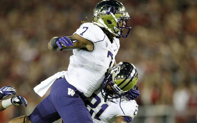 Shaq Thompson has been a force for the Washington defense. (USATSI)