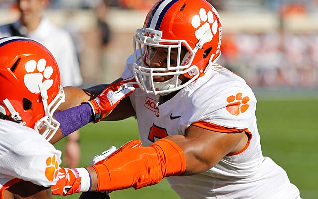 Vic Beasley will be in demand because he offers pass rushing -- but not run-stopping -- skills. (USATSI)